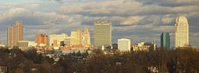 Panorama orasului Salem